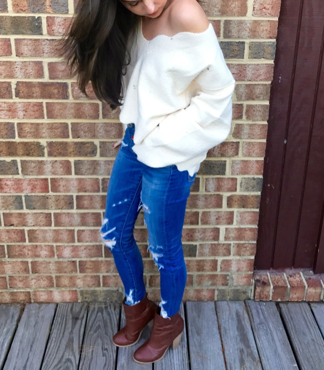 Scalloped sweater - 4