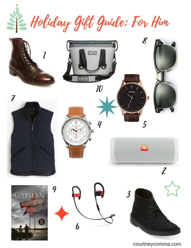 Holiday Gift Guide_ For Him
